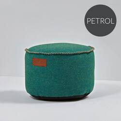 RETROit Cobana Drum puf PETROL