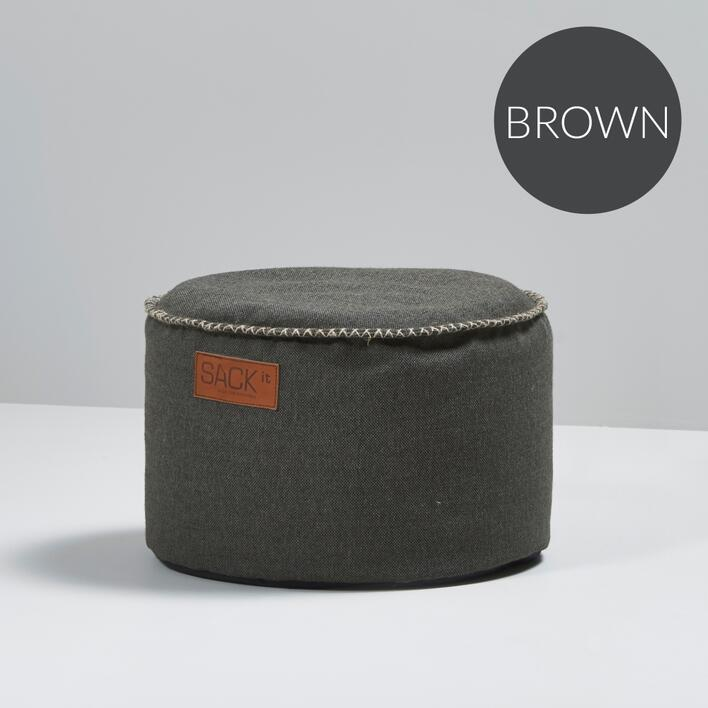 RETROit Cobana Drum puf BROWN