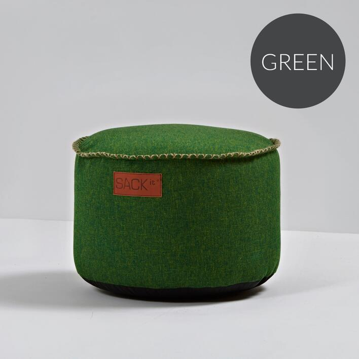 RETROit Cobana Drum puf Green
